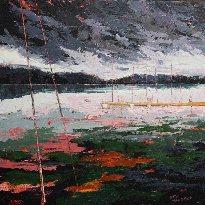 © Bev Mazurick - Storm Approaching Mill Bay