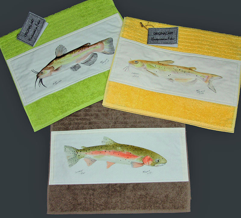 © Bev Mazurick - Fish Towels