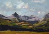 © Bev Mazurick - Foothills & Mountain study untitled