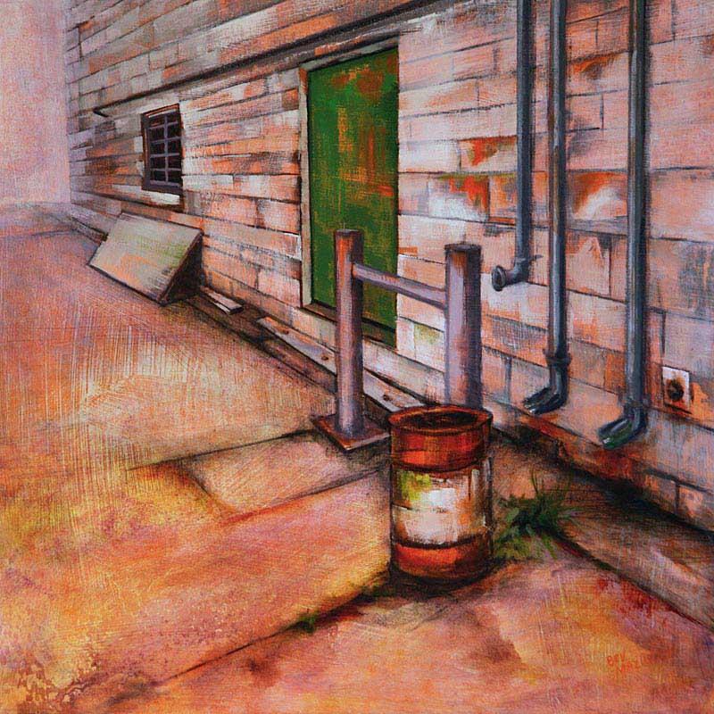 © Bev Mazurick - Green Door