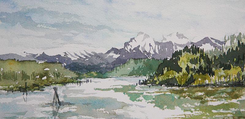 © Bev Mazurick - Fraser River near Deroche