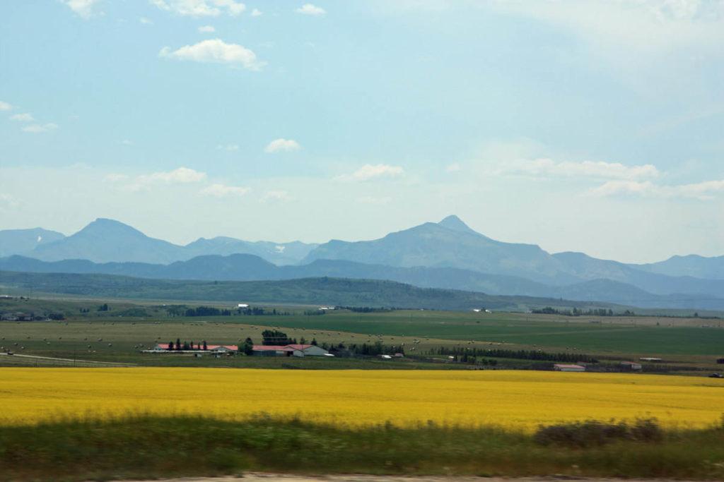 © Bev Mazurick - landscape photograph, southwestern Alberta