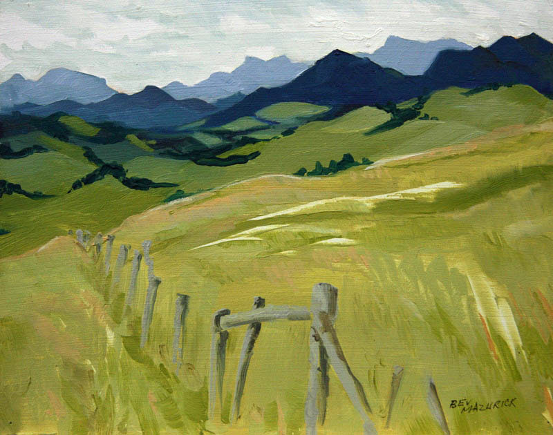 Foothills Ranch Country plein air landscape
