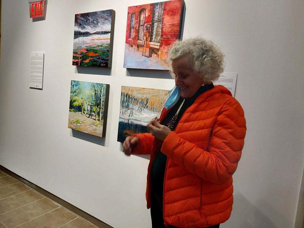 Bev Mazurick at Passages Exhibition 2020